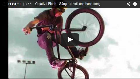 Creative Flash – Sáng tạo với ảnh hành động