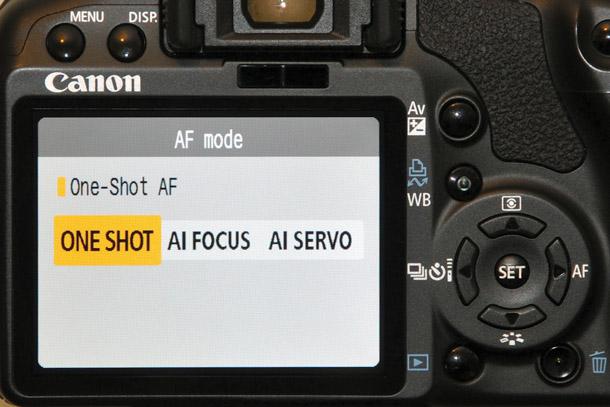 Cách lấy nét AF