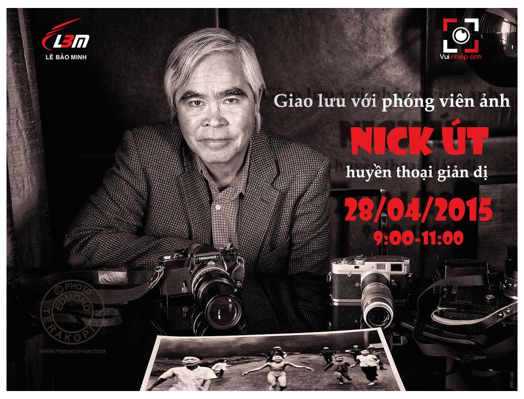 Buổi giao lưu với huyền thoại phóng viên chiến trường Nick Út