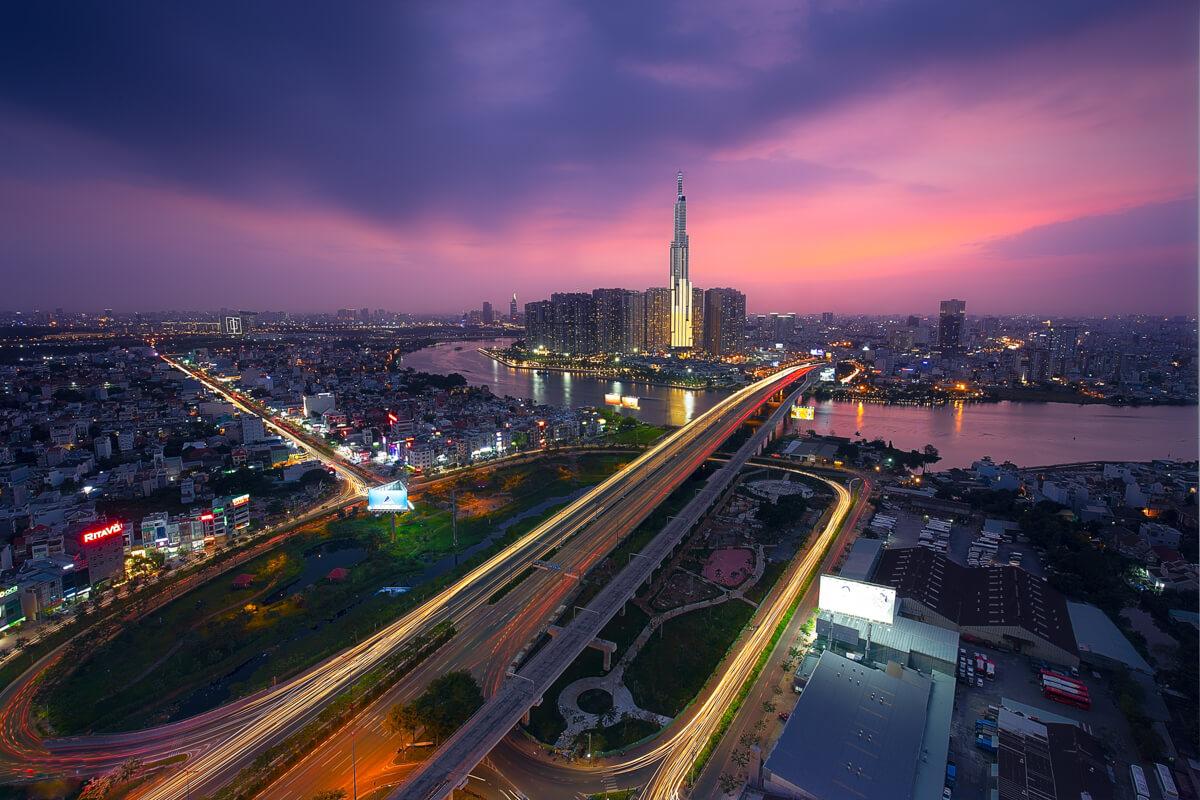 Sài Gòn nhìn từ trên cao – NAG Nghị Lê